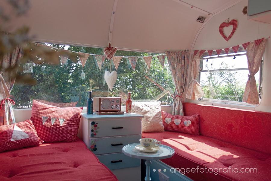 interior caravana vintage
