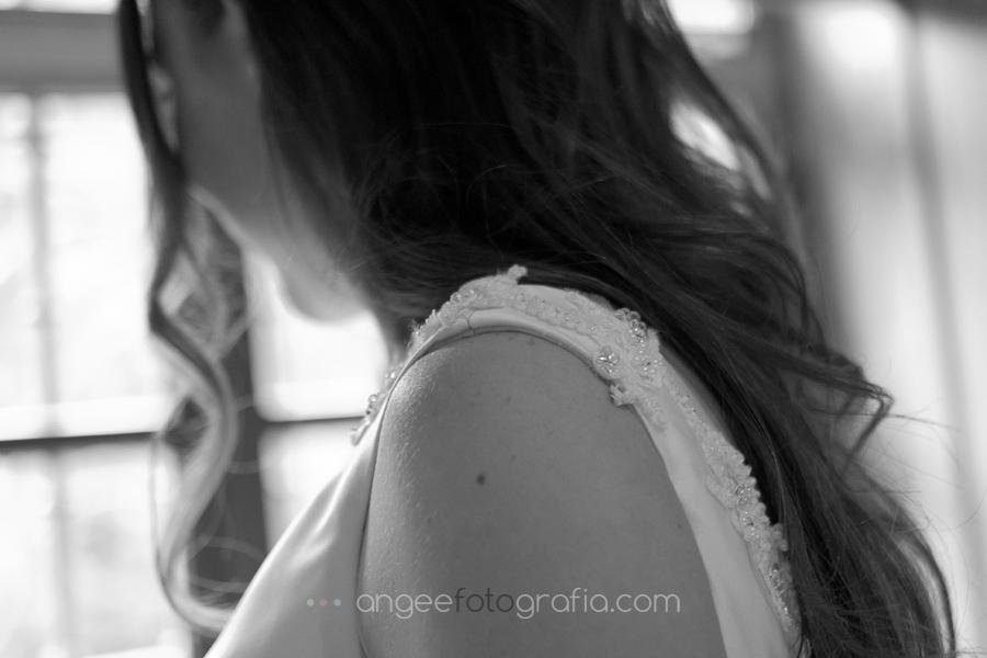 detalle vestido de novia en cangas del narcea