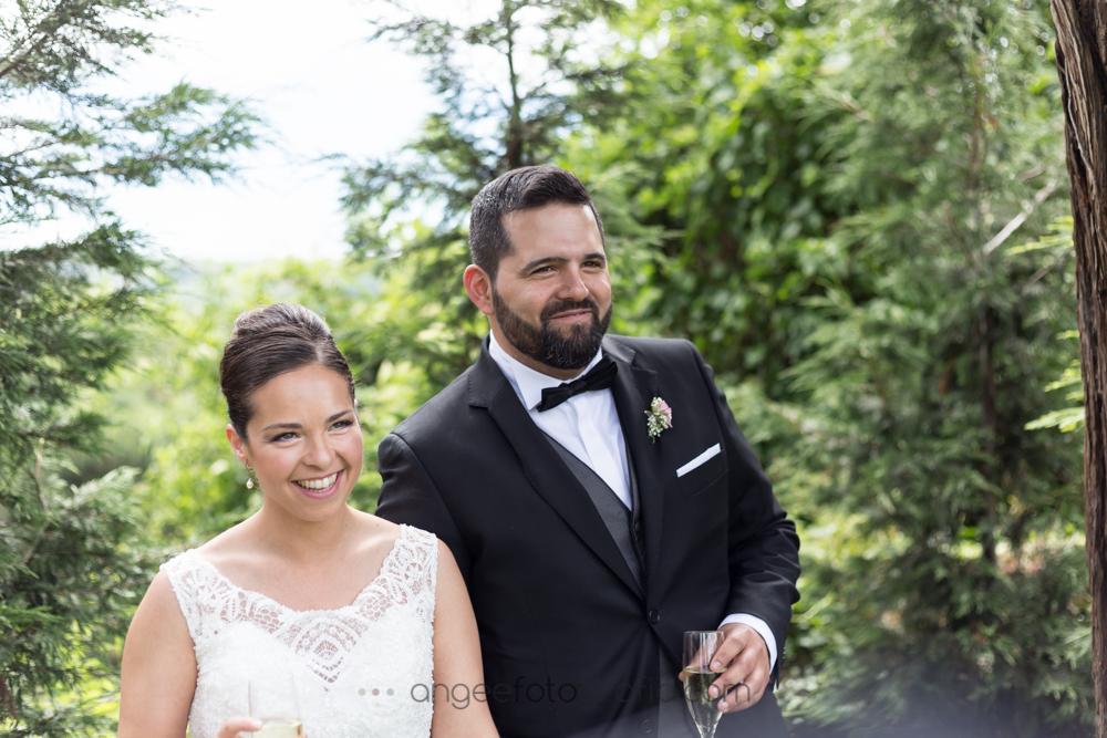 Boda de Jessica y Christian por Ángela Gonzalez Fotografía despues de la ceremonia