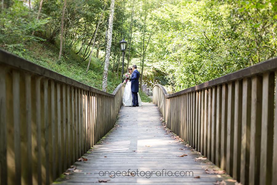 Rocio y Pablo en Covadonga, foto de recién casados