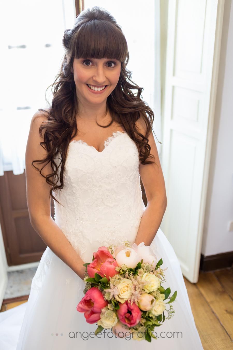 Preparativos de la novia en La Quinta del Ynfanzón. Boda Consuelo y David. Angela Gonzalez Fotografía