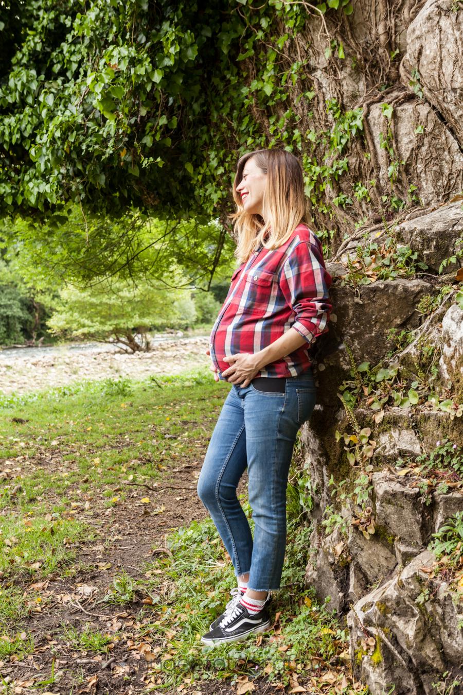 Sesión de embarazo. Paula, Martín y Sami. angeefotografia.com