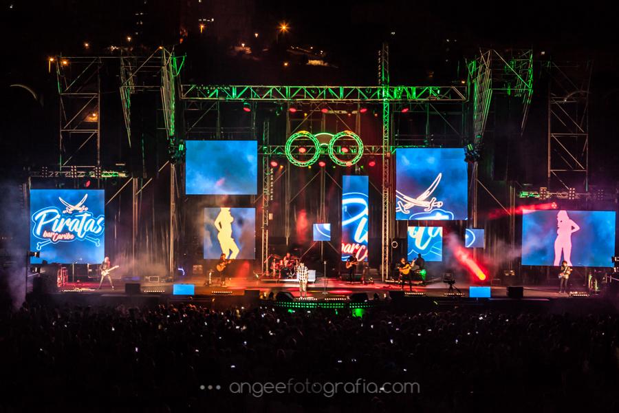 Melendi, Escenario, luces Gira Quitate las Gafas por Agela Gonzalez Fotografía