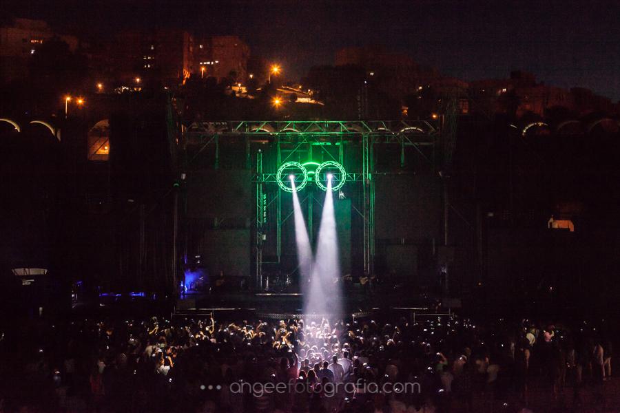 Gira Quitate las gafas de Melendi en Algeciras Agosto 2017