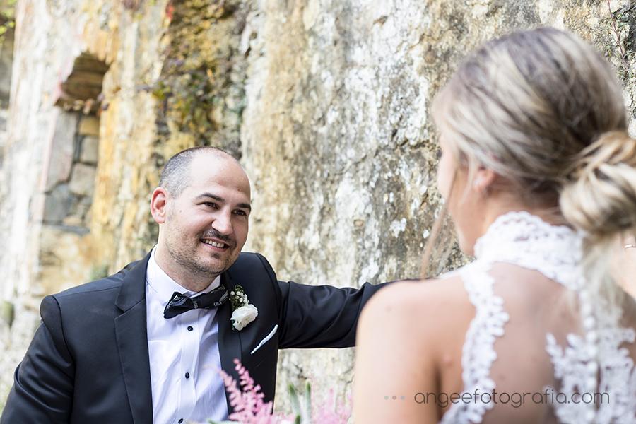 Novio Fotos de recién casados en Asturias