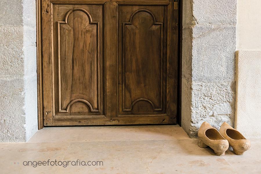 Parador Monasterio de Corias boda de Ana y Bruno, detalles habitación