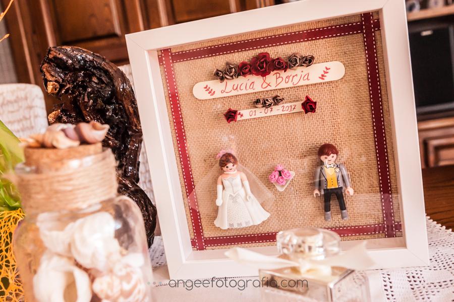 Boda Lucia y Borja en el Castillo del bosque de la Zoreda por Angela Gonzalez Fotografía angeefotografia.com preparativos de la novia detalles