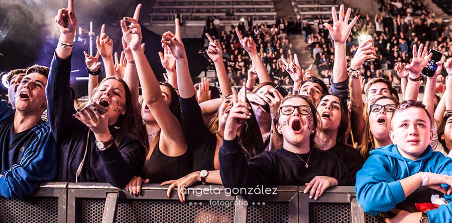 Melendi 2017 Barcelona Palau Sant Jordi Fans publico