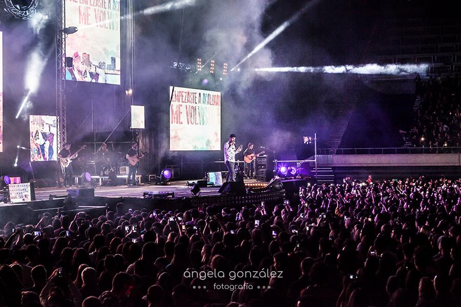 Palau Sant Jordi en Barcelona, Tour Quitate las gafas 2017 por Angela Gonzalez Fotografia
