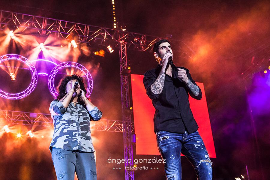 Melendi, Rosana en Wizink Center en Madrid Fin de gira 2017