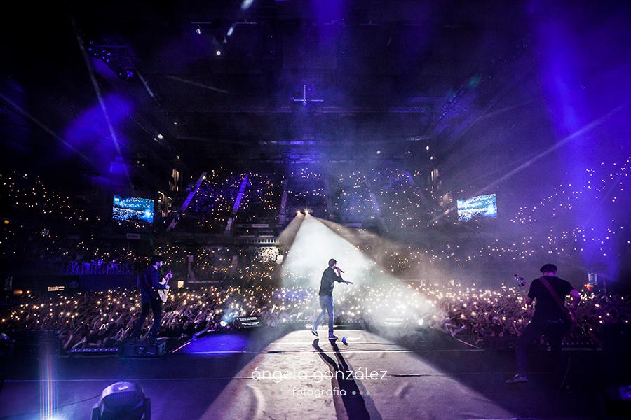 Melendi cenizas en la eternidad 2017 concierto en Madrid Wizinc Center Completo