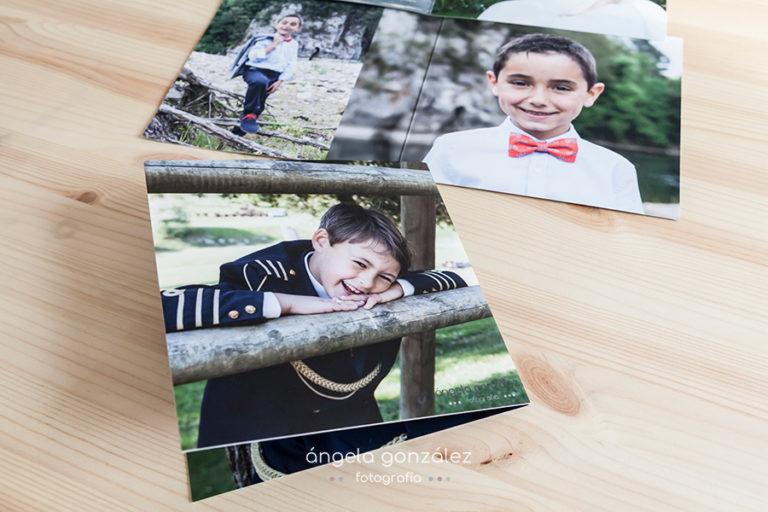 Comuniones, Dipticos, recordatorios, Fotos de comunión Fotógrafo de comuniones en Asturias