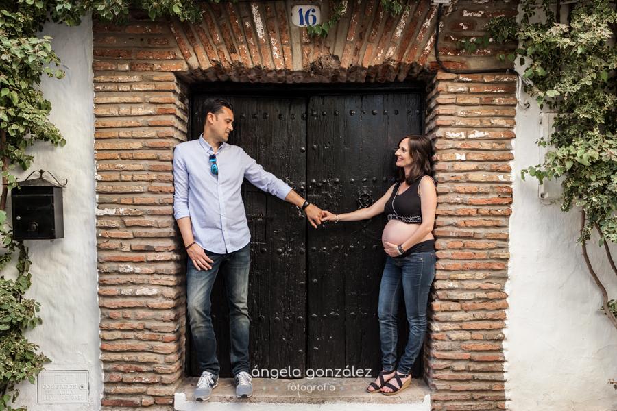 Reportaje fotográfico de embarazo en Estepona, Málaga