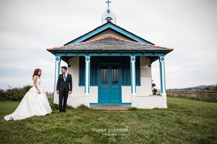 Hermita de la regalina, Post boda en Asturias por Angela Gonzalez Fotografía