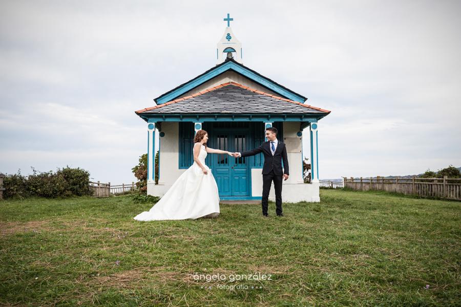 Post boda, Asturias, Fotografía natural, Hermita de la regalina