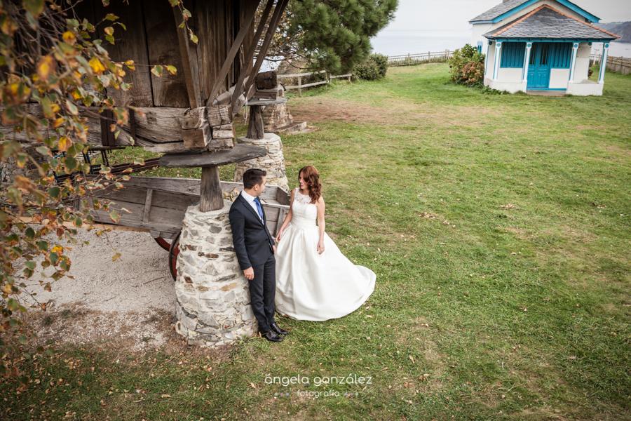 Post boda en la Hermita de la Regalina, Cadavedo, Asturias