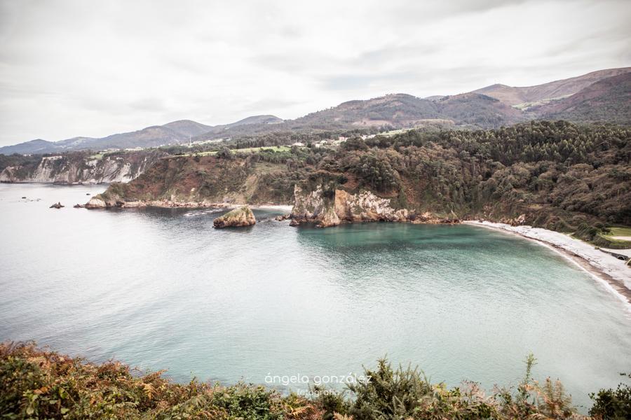 Fotografía natural, fotografía en exteriores, Playa de Cadavedo