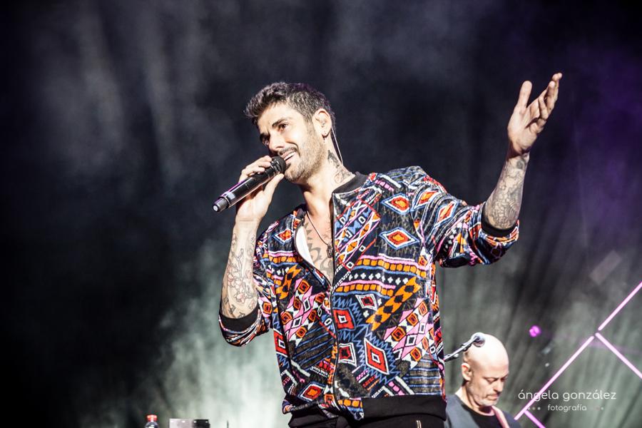 Foto de Melendi en concierto Tour Ahora 2018