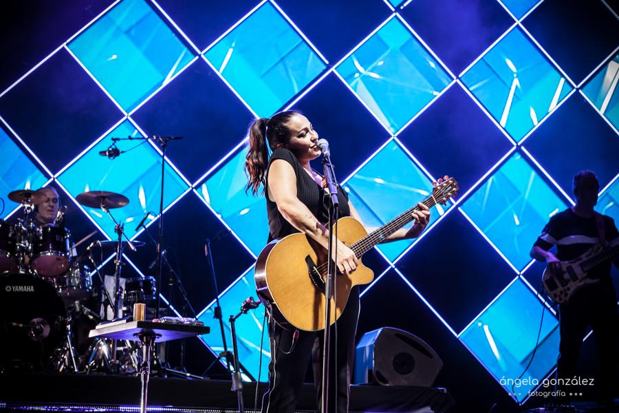 Esmeralda Grao en el escenario de starlight Marbella