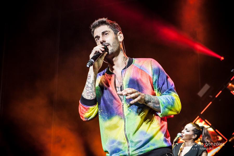 Melendi en concierto Tour Ahora 2018 en Marbella