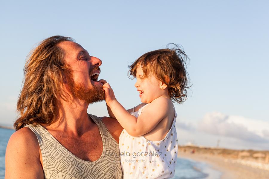 Familia en la playa, niños, angeefotografia