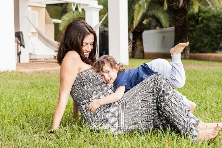 Fotos de niños, Reportaje de embarazo en Ibiza