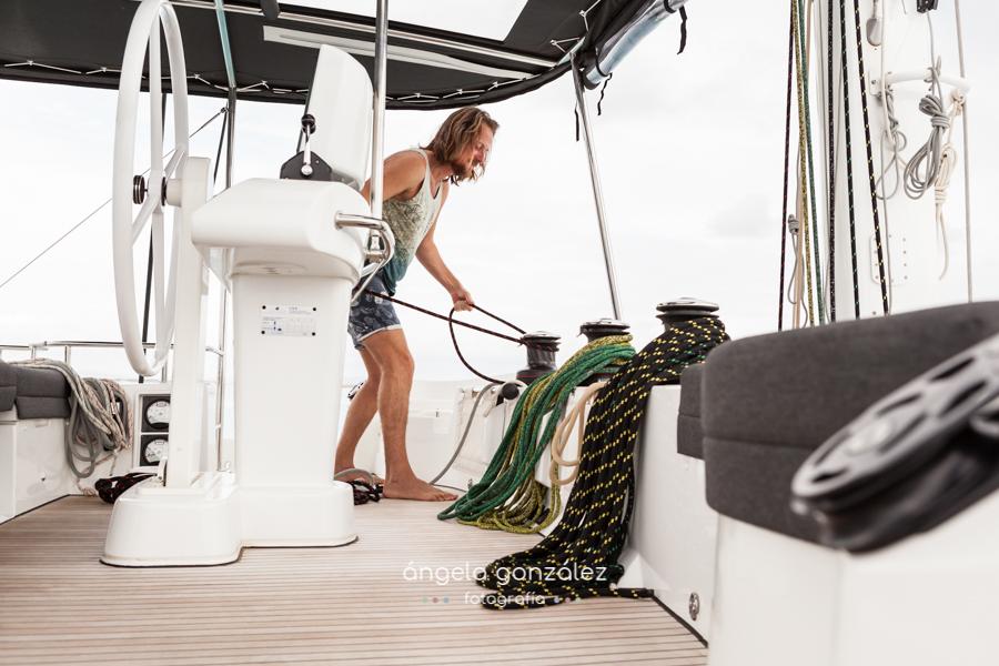 Fotos en un barco, Reportaje en el mar, Fotografía de familia, angeefotografia