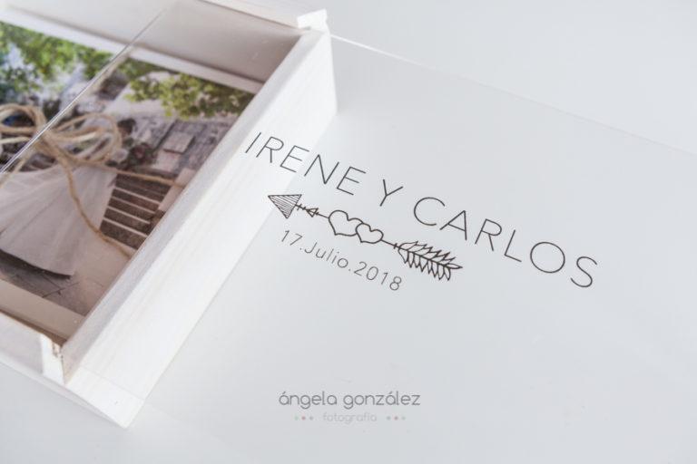grabado de caja bodas 2018