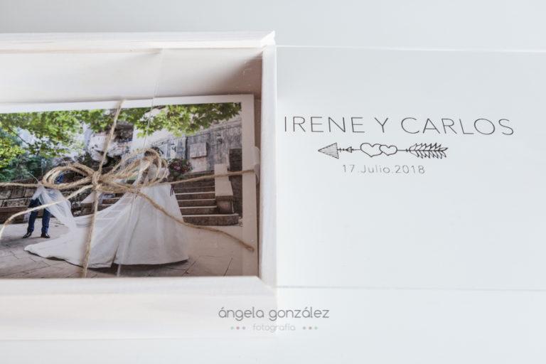 entrega bodas 2018 caja grabada