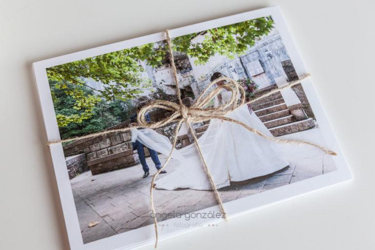 entregas bodas 2018, caja de fotos