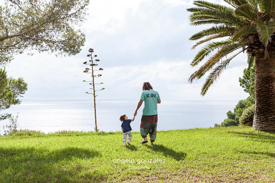 Reportaje de familia en Ibiza, fotos de familia, sesión de fotos en Ibiza