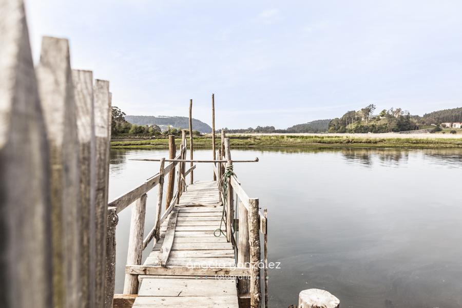 Fotos de embarazo en Asturias belen y noe embaracadero