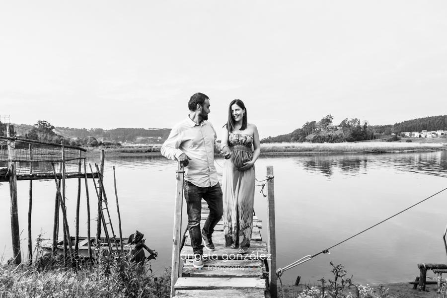 Sesión de fotos en asturias, fotos, embarazo bw