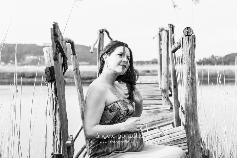 Angela Gonzalez Fotografía retrato de embarazo belen