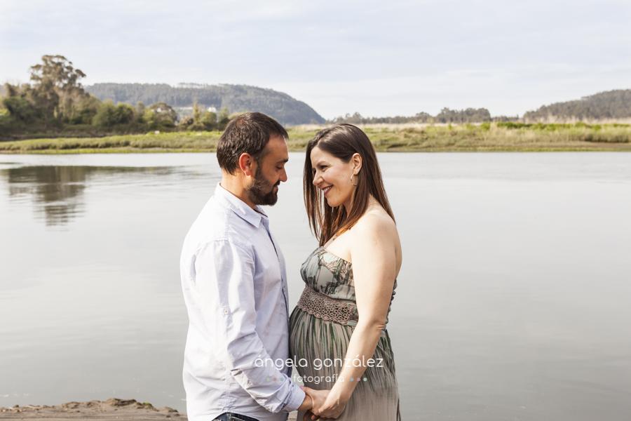 reportaje en soto del barco, asturias pareja embarazo