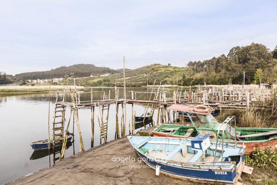 Asturias, cudillero, soto del barco, san juan de la arena barcas