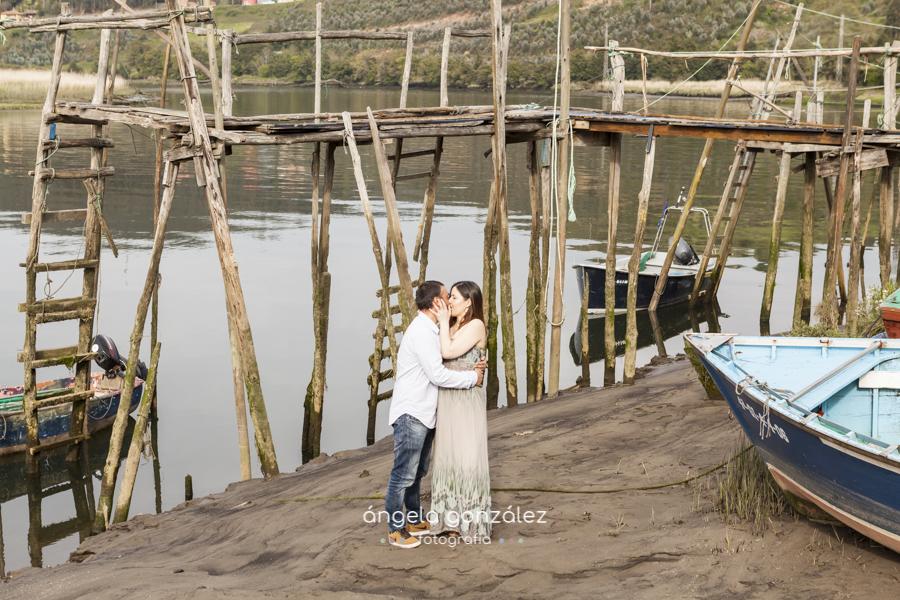 Sesión de familia en asturias belen y noe