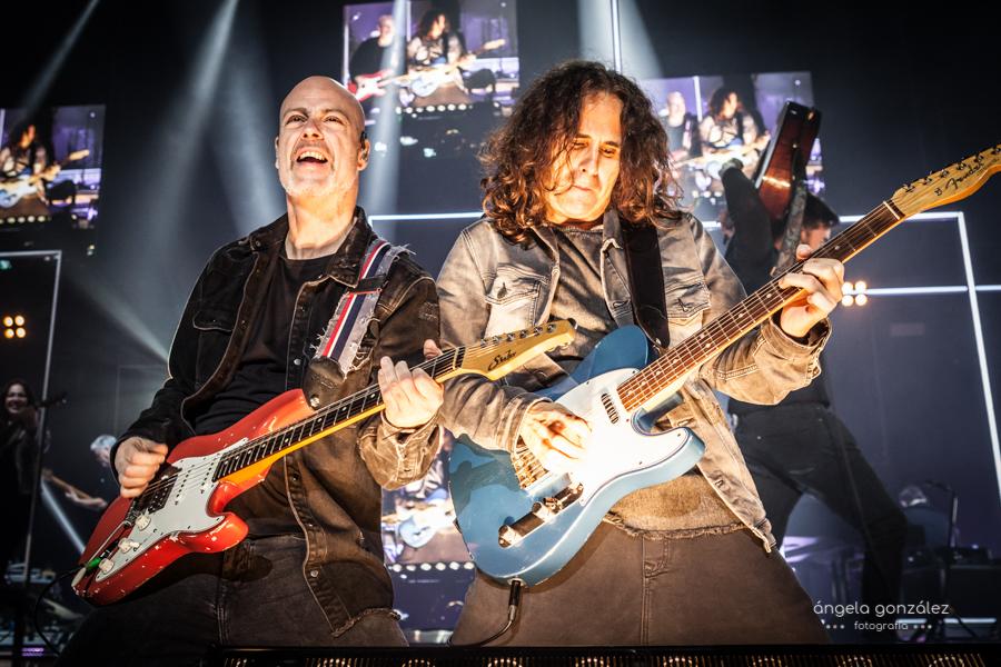 Carlos Rufo y José de Castro en concierto de MELENDI
