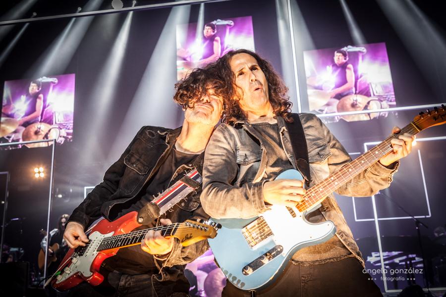 Carlos Rufo y José de Castro en el concierto de Melendi en A Coruña por Angela González Fotografía