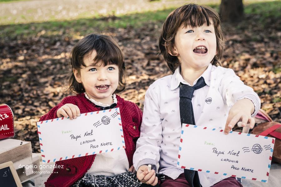 reportaje niños navidad