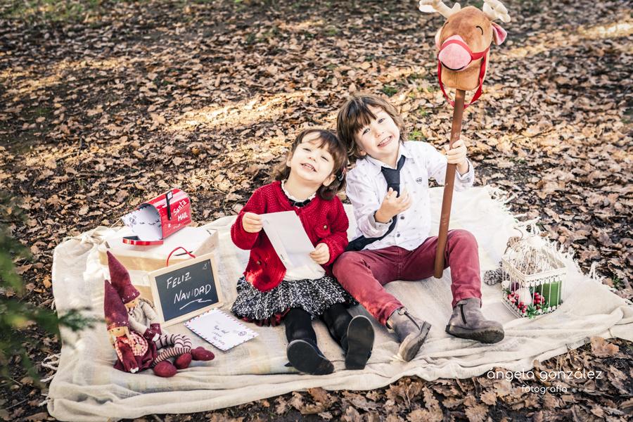 Postales de niños navidad
