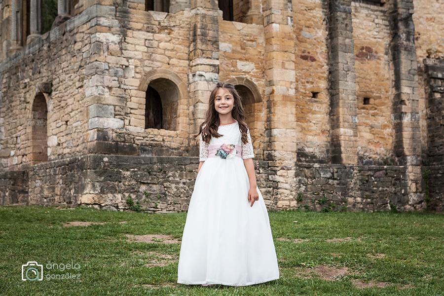 niña de comunión asturias
