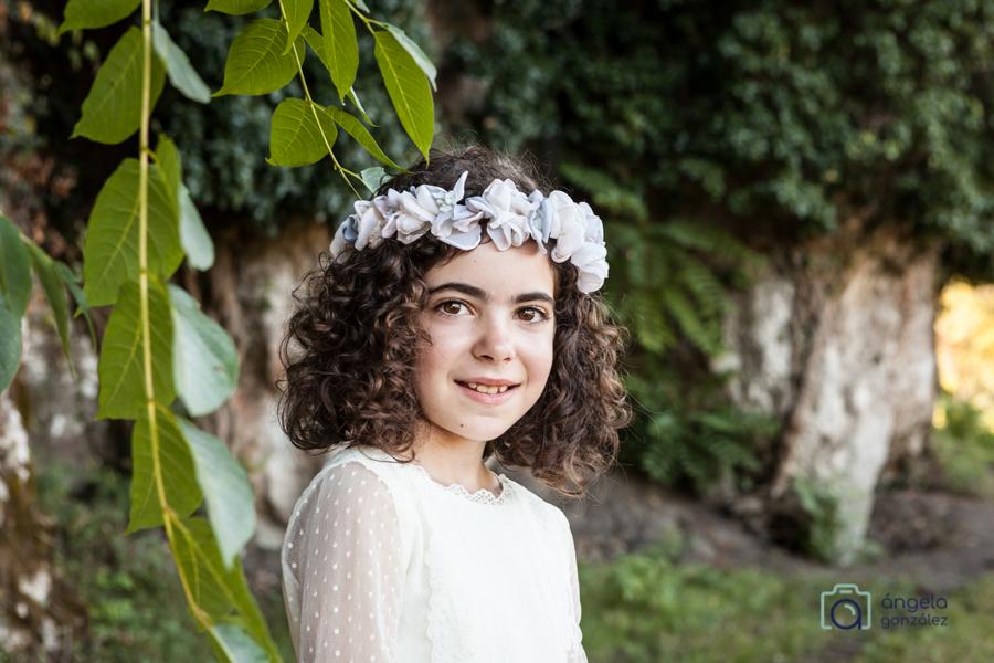 Fotos comunión niña